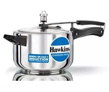 HAWKINS STAINLESS STEEL PRESSURE COOKER 5L  Induction Or Gas Or Electric Stove