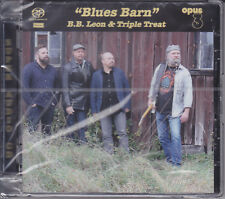 B.B. Leon & Triple Treat - Blues Barn Opus 3 Records Stereo Hybrid SACD CD Opus3