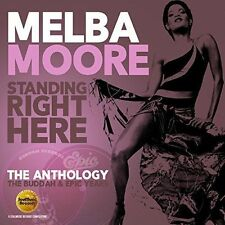 MELBA MOORE - STANDING RIGHT HERE - THE ANTHOLOGY: THE BUDDAH & EPIC YEARS * NEW