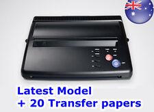 Transfer Machine Kit / Tattoo Stencil Thermal  Copier +20 Paper