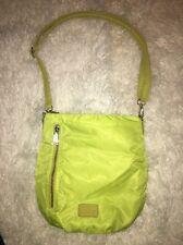 Co Lab Neon Green Cross body Bag Purse