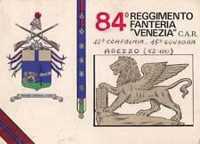 A4630) SIENA, 84 REGGIMENTO FANTERIA VENEZIA C.A.R.. VIAGGIATA.