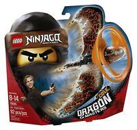 Lego Ninjago Cole Dragon Master Spinjitzu Masters 70645 New 92pcs FREE SHIP