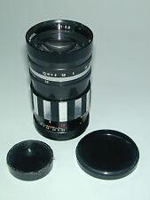 pour EXACTA objectif ADMIRAL 2.8/135 mm photo photographie  2 bouchons