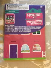 New House Kit Trousse De Maison Dollhouse Kit Boy's Girl's Ages 3 and Up