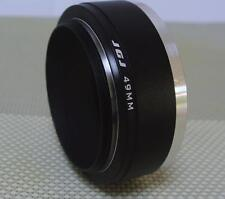 JGJ Metal Lens Hood 49 mm for Standard Focal Camera Lens J49S