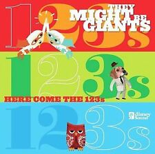 Here Come the 123's by They Might Be Giants (CD/DVD, Feb-2008, Walt Disney)