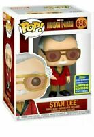 STAN LEE IRON MAN CAMEO SDCC 2020 CONVENTION EXC FUNKO POP MARVEL PRE ORDER 656