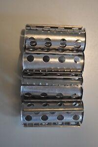 Vintage Curlers Metal 2 Piece Set of 4 Pieces