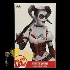 HARLEY QUINN Red Black & White ARKHAM ASYLUM Statue DC Collectibles BATMAN!