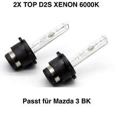 2x Neu D2S 6000K 35w Xenon Ersatz Birnen  Mazda 3 BK