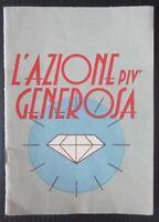 1950ca L'AZIONE PIÙ GENEROSA Camillucci La Scuola novella ragazzi illustrato