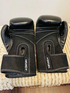 Century I Love Kickboxing Unisex Adult Black MMA Boxing Style Gloves 12 Oz
