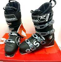 $800 Rossignol AllSpeed Elite 110 Alpine Ski Boot 27.5 Black NIB Downhill Last98