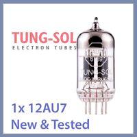 1x NEW Tung Sol 12AU7 Reissue TungSol Vacuum Tube 12AU7W 6189 ECC82 TESTED