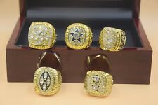 5pcs 1971 1977 1992 1993 1995 Dallas Cowboys Championship Ring --/-