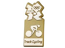 "OFFICIAL LICENSED LONDON 2012 OLYMPIC GAMES ""TRACK CYCLING"" PIN / BADGE"