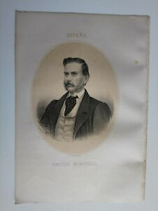 1867 Retrato Oval Narciso Monturiol Estarriol, Figueras-San Martín de Provensals