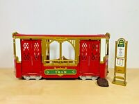 Sylvanian Families Town Ride Along Tram Set Calico Critters Tomy