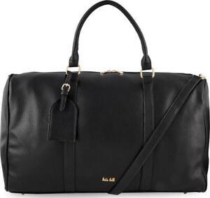 Kate Hill Overnight Holdall Bag - Black