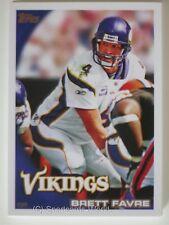 Brett Favre - 2010 Topps # 60 - Minnesota Vikings