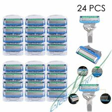 24 PCS Replacement Blades Razor Blades For Gillette Fusion ProGlide Power【US】