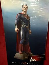 SUPERMAN MAN OF STEEL 1/6 COLLECTOR'S EDITION FIGURA + BLU-RAY ¡NUEVO!