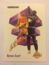 1991 SkyBox NBA Basketball Card - Los Angeles Lakers #139 Byron Scott