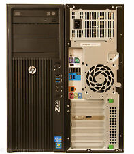 HP Z420 Workstation Intel Xeon Quad E5-1620 3.6GHz 1TB 16GB DVDRW Quadro 600 W7P