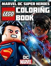 Lego Marvel DC Super Heroes Coloring Book Great Book for Marvel  by Books Paradi