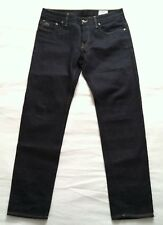 NWOTG G-STAR RAW 3301 LOW TAPERED MEN BLUE 5 POCKETS JEANS SZ 32X32