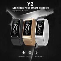 Smart Bracelet Watch Heart Rate Monitor Bluetooth Pedometer Tracker Sport GPS
