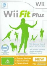Wii FIT PLUS GAME ONLY *NEW & SEALED*