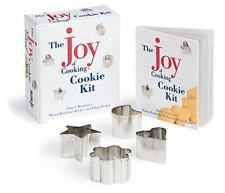Joy of Cooking Cookie Kit Irma Rombauer 48p Recipe Book & 4 Mini Cookie Cutters