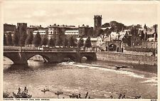 Postcard - Chester - The River Dee and Bridge