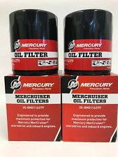 Mercury OEM Oil Filter 35-8M0116379  for V-8 models w Ford blocks * 2 PACK *