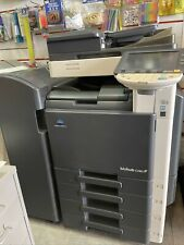 More details for konica minolta bizhub c280 mfp printer with 4 sets of ink cartridges/ waste drm