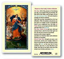 Mary Our Lady Untier (undoer) of Knots Laminated Prayer Card SET OF 3 Catholic