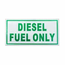 1 x Diesel Only - Vinyl Fuel Door Machine Label Turbo Waterproof Decal Sticker