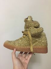 Adidas Originals x Jeremy Scott Tinsel TeddyBear Designer Luxury Limited Sneaker
