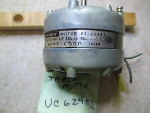 SONY TC651 Reel Table Motor - UC624K1