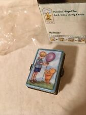 Classic Winnie The Pooh Midwest Of Canton Falls Disney Mini Trinket Box