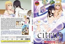 ANIME DVD~ENGLISH DUBBED~Citrus(1-12End)All region FREE SHIPPING+FREE GIFT