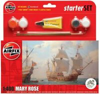 The Mary Rosa Airfix Set Básico Royal Navy Modelo Kit Pinturas Y Cepillo A55114