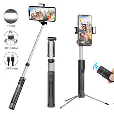 Tripod Wireless Bluetooth LED Selfie Stick for Samsung S10 5G S10+ S9 S8 S7 edge