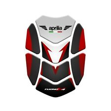 Motorcycle Tank Pad Protector Sticker | (Aprilia) Tuono v4 Red.