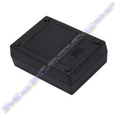 111x82x38mm Black ABS Plastic Enclosure Small Project Box For Electronic Circuit