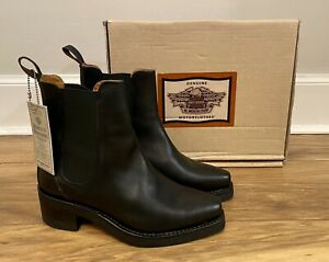 Harley-Davidson Motorcycles Women's Black Leather Boots UK Size 6 EX! Condition