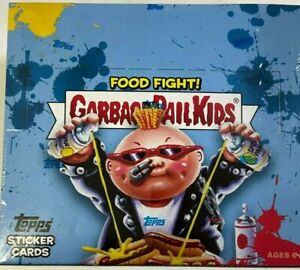 2021 TOPPS GARBAGE PAIL KIDS FOOD FIGHT !    STICKER CARD BOX