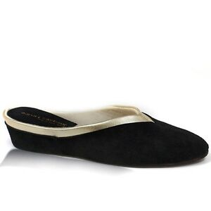 JACQUES LEVINE WOMEN'S INDOOR HOUSE SLIPPERS  #4640 MADE IN SPAIN